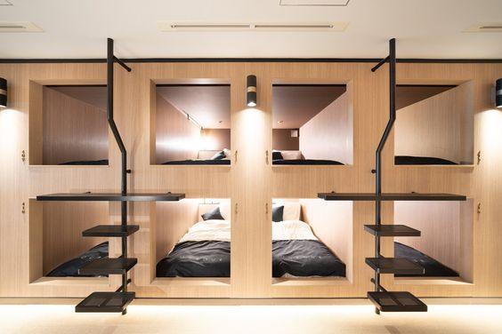 Petit et génial - chambre capsule bois