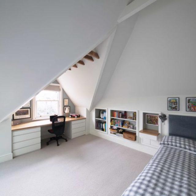 bureau aménagement fenetre toit chien assis