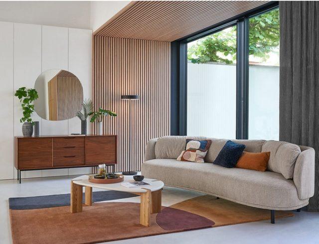 canapé design slow et organique