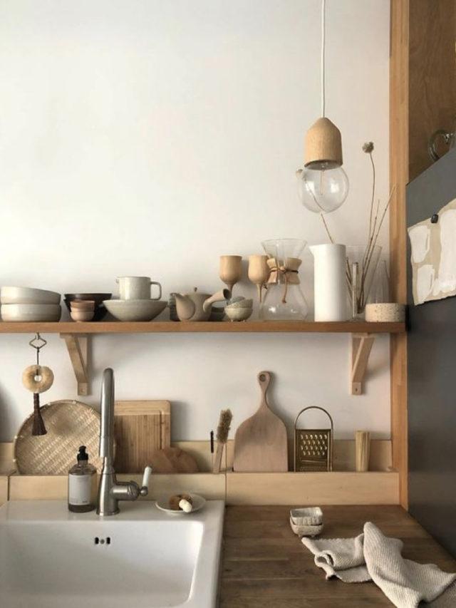 cuisine deco slow etagere et accessoire