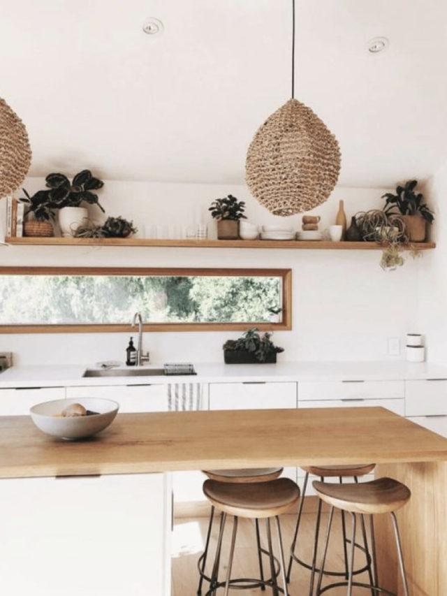 idee decoration cuisine bois blanc