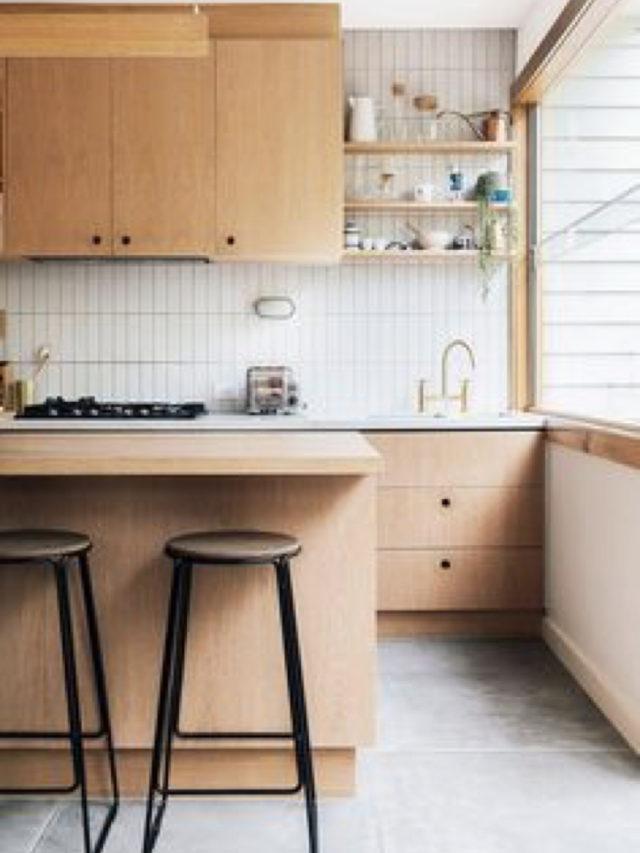 mobilier cuisine slow bois nature