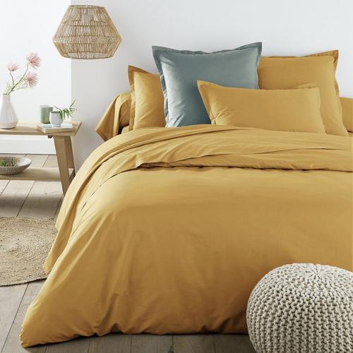 parure de lit jaune pas cher