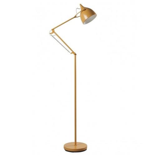 lampadaire jaune deco
