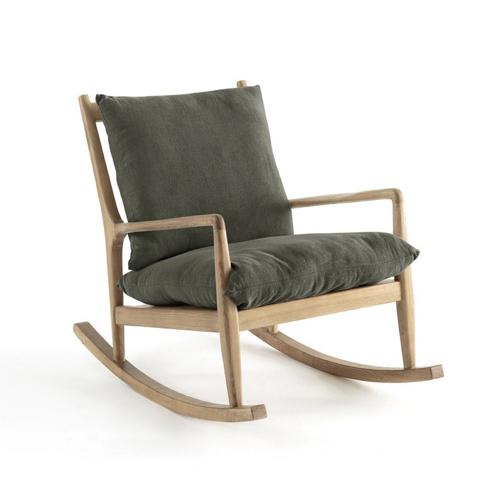 fauteuil vintage à bascule