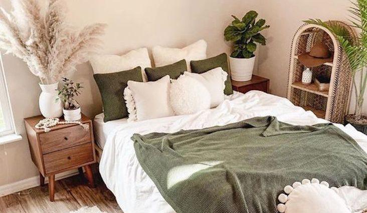 idee deco chambre slow accessoire linge de lit