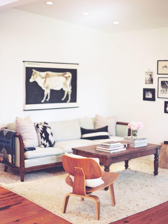 visite déco canape mid century mobilier salon vintage