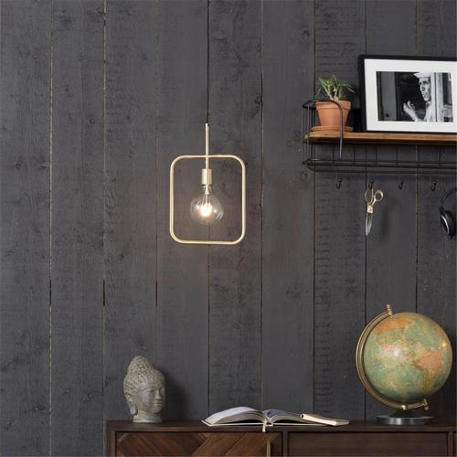 luminaire eclairage entree couloir suspension élégante