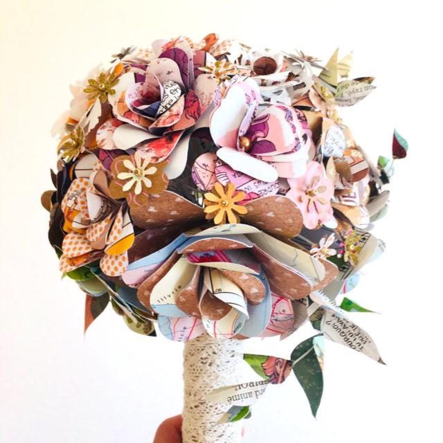bouquet de mariage eco responsable made in france