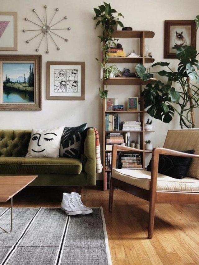 fauteuil deco années 50 salon ambiance style vintage