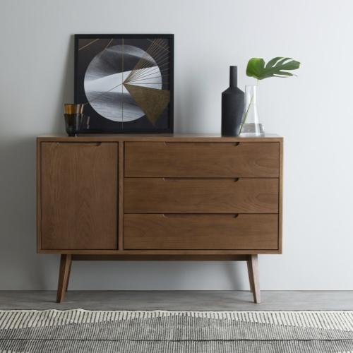 petit meuble mid century 3 tiroirs
