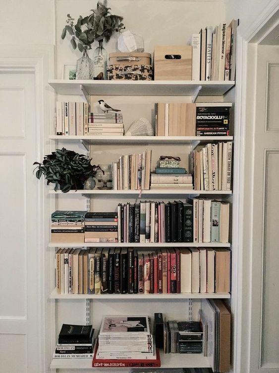 Petit et génial - petite bibliothèque angle