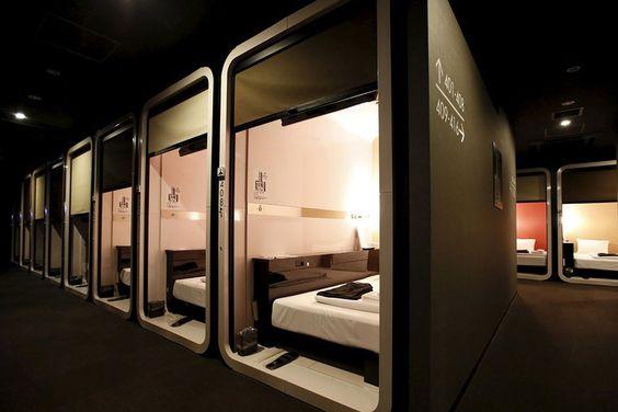 Petit et génial - chambre capsule