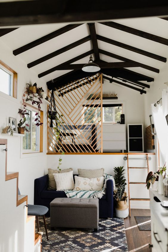 Petit et génial - tiny house claustra