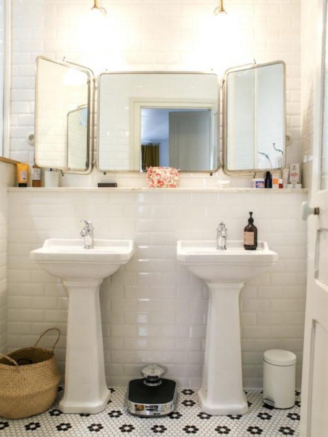 miroir recup salle de bain deco durable