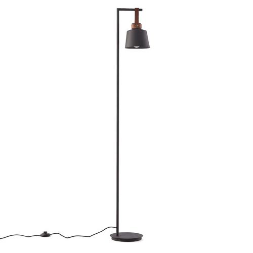 lampadaire déco noir salon