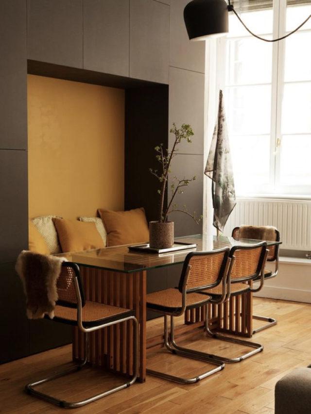 espace salle à manger architecture intérieur niche
