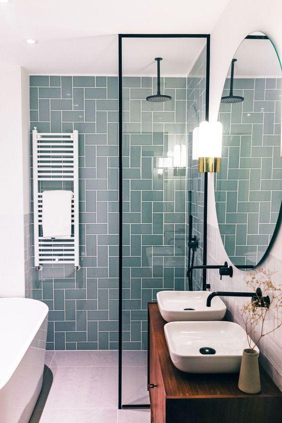 decoration salle de bain eco responsable douche