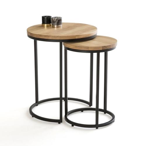 table gigogne style industriel