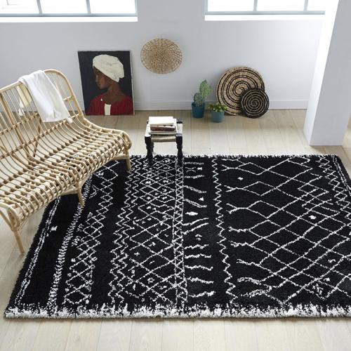 tapis berbère scandinave boheme