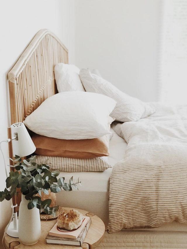 camaieux blanc beige couleur slow chambre