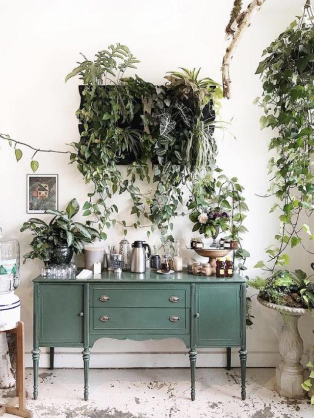 10 idees a copier jardin hiver meuble vert