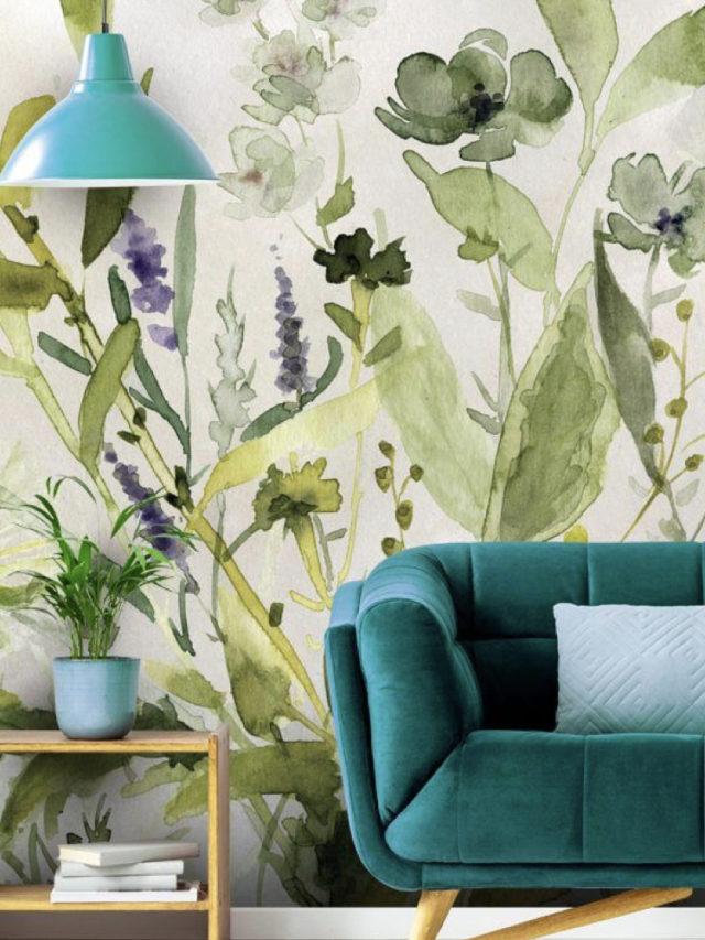 10 idees a copier jardin hiver papier peint aquarelle