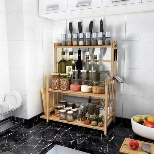 gain de place cuisine aménagement rangement etagere appoint