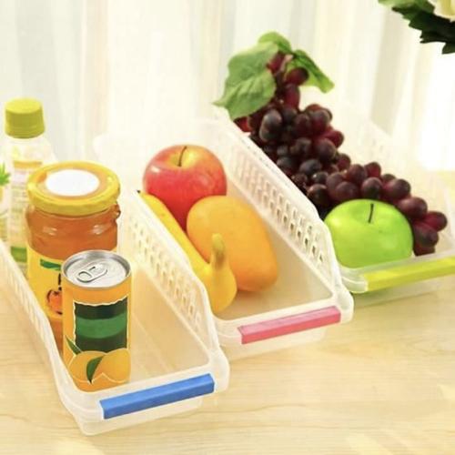 gain de place cuisine aménagement rangement organiseur frigo