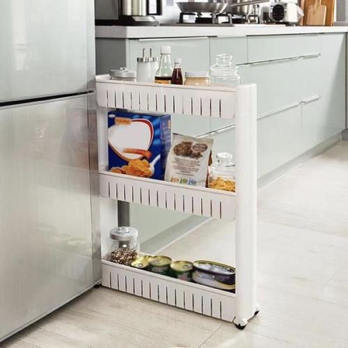 gain de place cuisine rangement meuble frigo