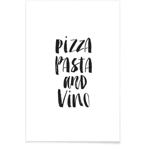 affiche deco cadeau à offrir cuisine italienne