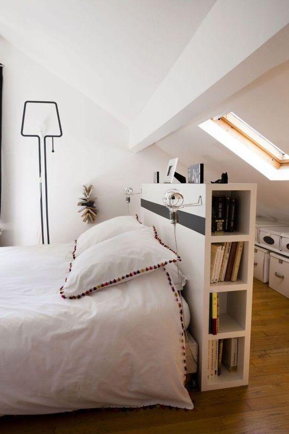 amenager combles chambre conseils tete de lit pratique