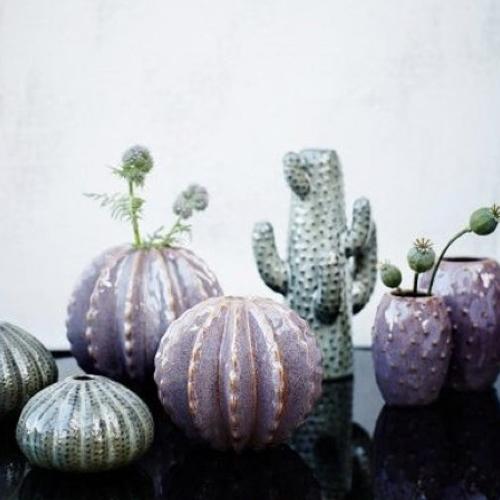 cadeau deco noel moins 15€ vase cactus