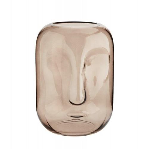 cadeau deco noel pas cher vase visage
