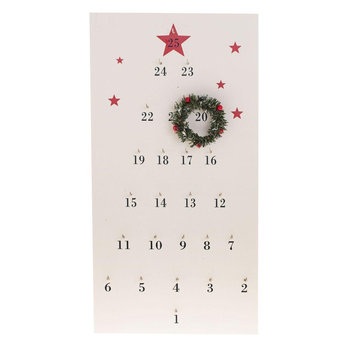 calendrier avent deco simple