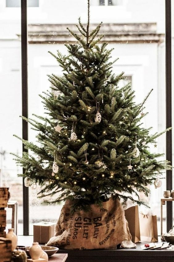 deco sapin naturel inspiration