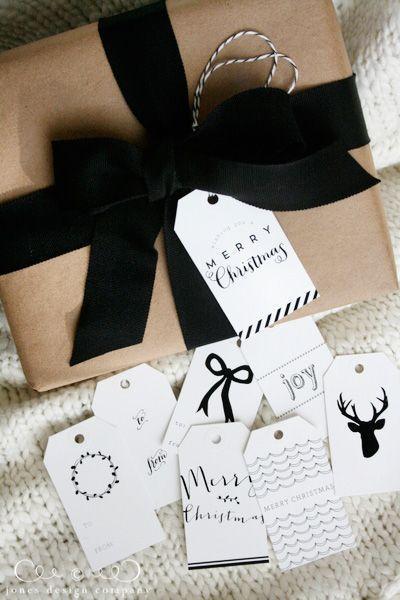 decoration noel kraft et recup emballage cadeau