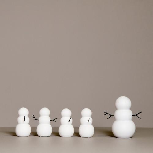decoration noel pour les nuls bonhomme de neige figurine