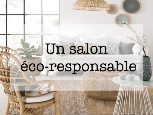 decoration salon eco responsable conseil