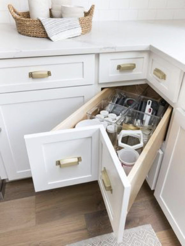 meuble angle cuisine gain de place