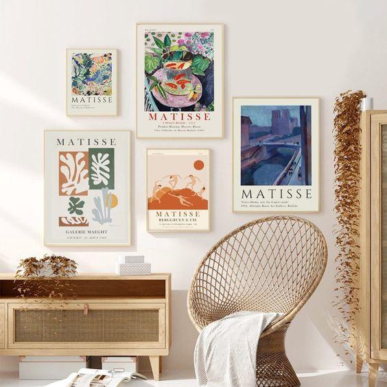 meuble rotin arty salon vintage années 70