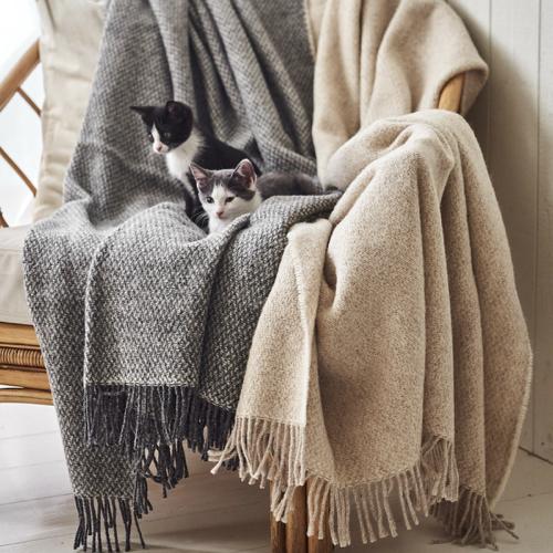 ou acheter plaid hygge scandinave laine