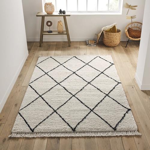 ou trouver deco hygge salon tapis berbere