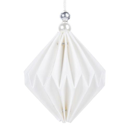 ou trouver deco noel blanche origami
