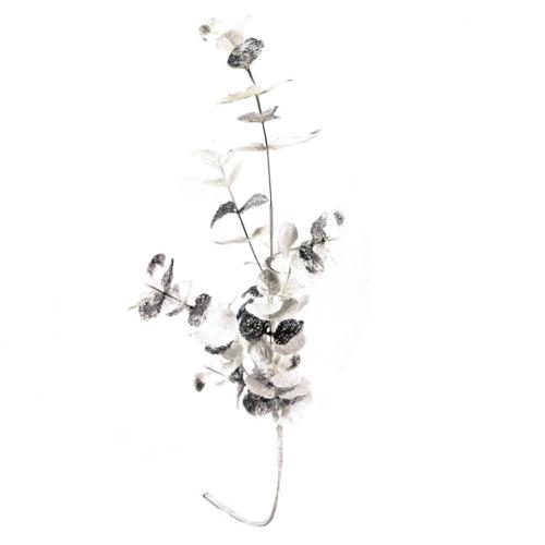 ou trouver deco noel blanche eucalyptus blanc et argent
