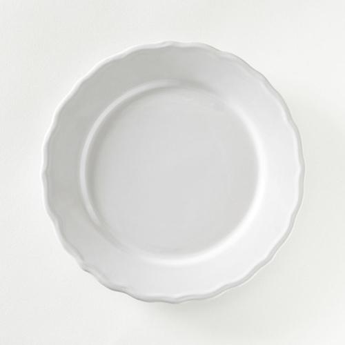 ou trouver deco noel blanche assiette classique