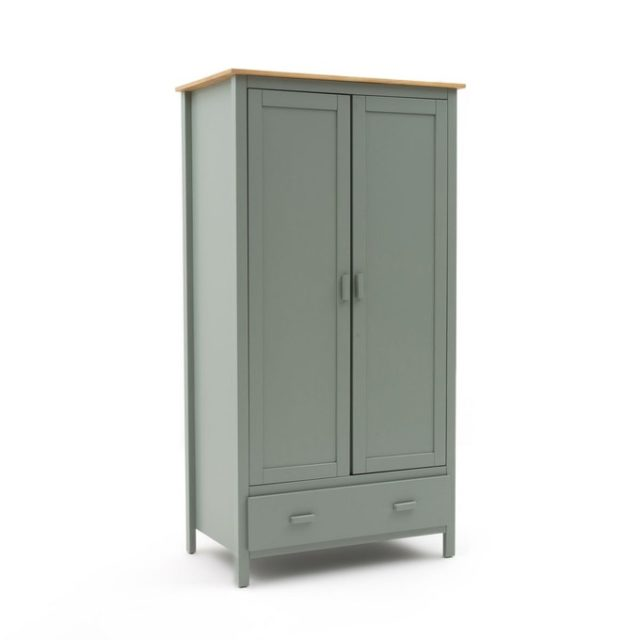 ou trouver mobilier chambre vert sauge armoire parisienne