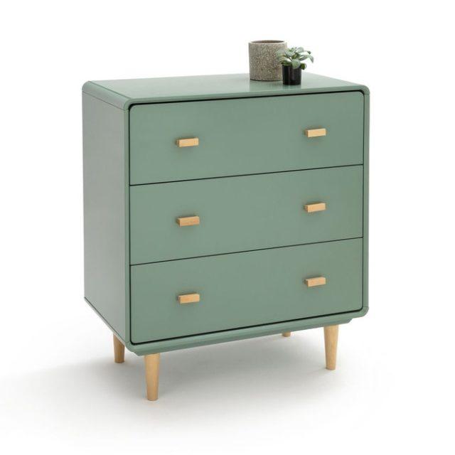 ou trouver mobilier chambre vert sauge commode