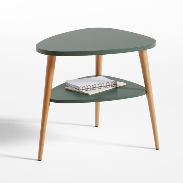 ou trouver table de nuit vert sauge scandinave