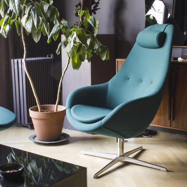 salon 4 pieds made in France fauteuil relax design